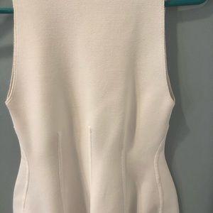 A.L.C. Dresses - A.L.C. Bidycon white ribbed dress s